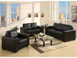 Fairmont Naples 3+2+1 Leather Sofa Set
