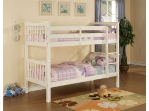 Limelight Pavo 3ft Single White Pine Bunk Bed