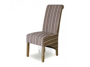 Striped Royale Fabric Richmond Dining Chair