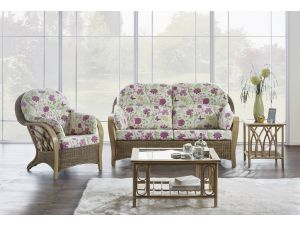 Cane Serena 2.5+1+1 Seater Conservatory Sofa Set Without Wrap Cushion