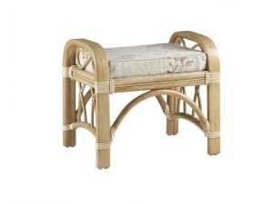Cane Toulon Footstool