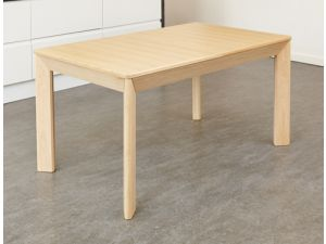 Olten Uno Extending Dining Table in Light Oak Finish