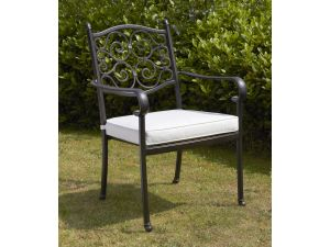 Royalcraft Versailles Stacking Dining Chair With Cushion
