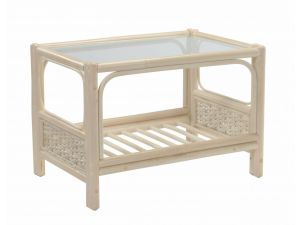 Desser Chelsea Coffee Table & Clear Glass