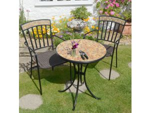 Europa Thornton 60Cm Set Table Set With 2 Thornton Chairs