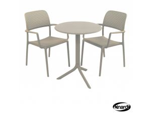 Europa Step Bistro Table Turtle Dove