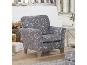 Alstons Franklin Georgia Fabric Accent Chair