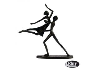 Europa 17cm Summer Dancing Couple In Lift Cast Iron Figurine