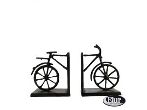 Europa 13cm Summer Bicycle Book Ends Cast Iron Figurine