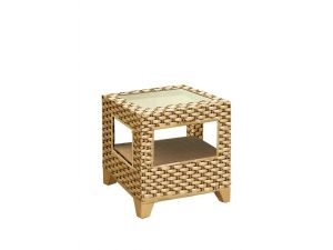 Cane Alba Side Table