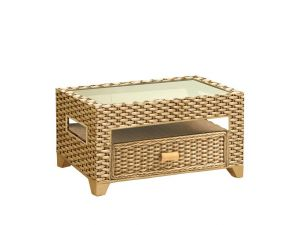 Cane Alba Rectangular Coffee Table