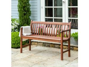 Alexander Rose Cornis Broadfield Wooden 5ft High Seat Bench