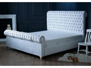 Oliver & Sons Alexander 4ft6 Double Fabric Bed