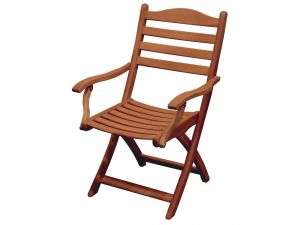 Alexander Rose Cornis Folding Carver Chair