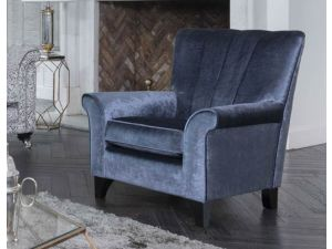 Alstons Fleming Fabric Accent Chair