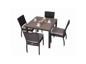 LB Andreas 4 Seater Square Rattan Set RA-S004