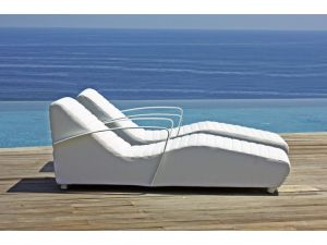 Skyline Axis Super White Lounger