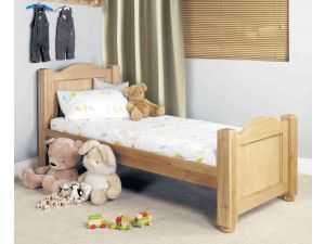 Baumhaus Amelie Oak Cot-Bed with Three Drawers