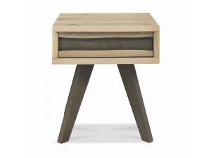 Bentley Designs Cadell Aged Oak Lamp Table With Drawer