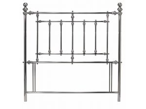 Bentley Designs Imperial 5ft King Size Nickel Metal Headboard