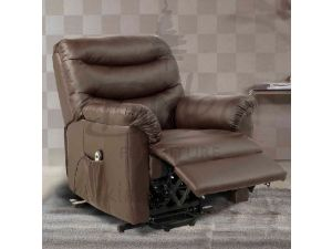 Birlea Regency Rise and Recliner Chair Brown