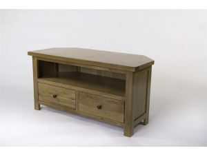 Bradbury Oak Corner TV Unit