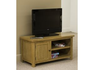 Bradbury Oak Straight TV Unit