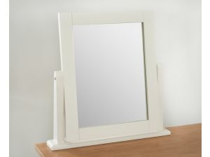 Camberwell Painted Cream Solid Pine Dressing Table Mirror