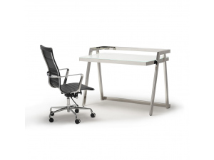 Cambridge Stainless Steel Office Desk