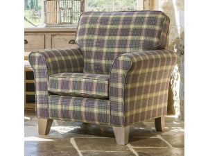 Alstons Cambridge Fabric Accent Chair