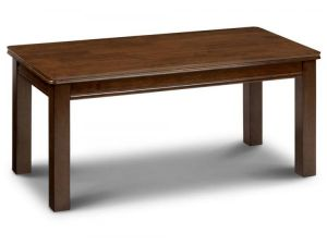 Julian Bowen Canterbury Extending Mahogany Dining Table