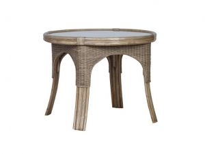 Cane Monza Round Dining Table