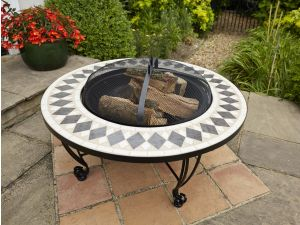 Leisuregrow Casablanca 87cm Firepit