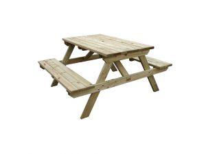Rowlinson 4ft Wooden Picnic Bench