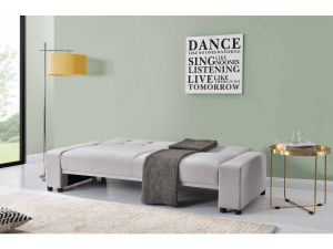 Chiltern Grey Bluetooth Fabric Sofa Bed