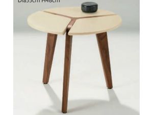 Chelsom Puntura Circular Lamp Table