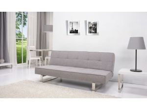 Coco Peppered Grey Fabric Sofa Bed