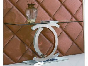 Fairmont Coco Glass Console Table