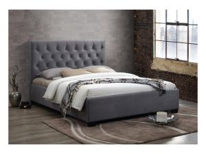 Birlea Cologne 4ft6 Double Grey Fabric Bed