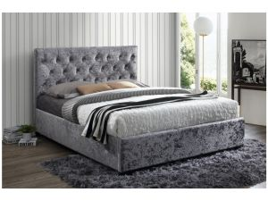 Birlea Cologne 4ft6 Double Steel Fabric Bed