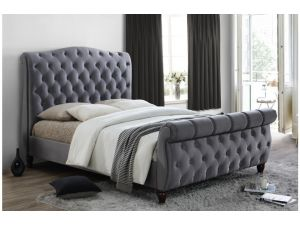 Birlea Colorado 6ft Super Kingsize Grey Fabric Bed