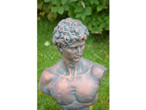 Europa David Bust High Standard Poly Stone Statue