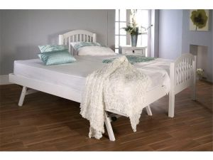 Limelight Despina 3ft Single White Wooden Guest Bed