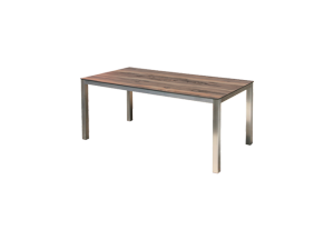 Westminster Detroit 152 X 90cm Table With White Hpl Top