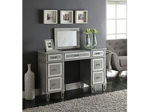 Sofia Silver Mirrored Dressing Table