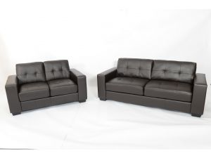 Fairmont Naples 3+2 Leather Sofa Set