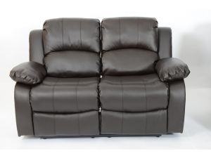 Fairmont Venice 2 Seater Leather Recliner Sofa