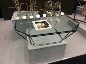 Chelsom Barion Clear Glass Coffee Table