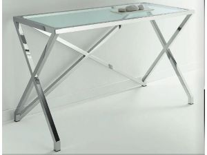 Chelsom Stellar Rectangular Glass Console Table