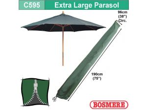 Extra Large Parasol Cover With Zip